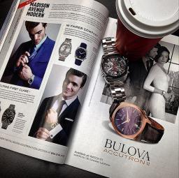 Bulova Accutron II, 97B133 - As in GQ Magazine November 2014 Issue!